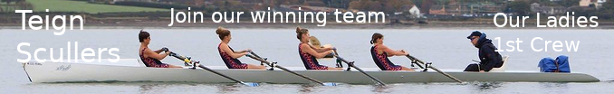 [Teign Scullers Rowing Club - A four on the water]